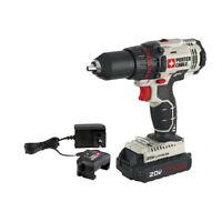 Porter-Cable 20V MAX 1.3 Ah Li-Ion 1/2 in. Drill Driver PCC601LA New