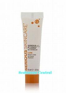 Serious Skincare Serious -C3 Plasma C Eye Treatment 0.5 oz NIB