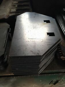 Jotul Jøtul 602 replacement Side baffle or Burn Plate.
