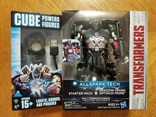 Transformers Cube Power Figures Allspark Tech Starter Pack Shadow OPTIMUS PRIME