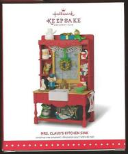 Hallmark 2015 Mrs Claus's Kitchen Sink  Club Member Exclusive Repaint