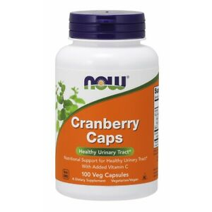 NOW Foods Cranberry Caps 100 Veg Capsules FREE SHIPPING. MADE IN USA