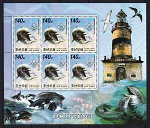Dolphins / Lighthouses / Animals on postage stamps  MNH** F10