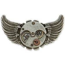Steampunk Flying Time Concho Tandy Leather 71509-04 **FREE SHIPPING