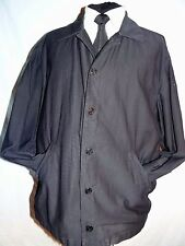 REPLAY SMART Designer Blu Scuro Cotone Leggero Bomber Jacket XL