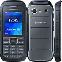 Samsung  Xcover B550H - Dark Silver (Ohne Simlock) Handy