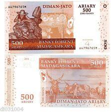 MADAGASCAR Billet 500 Ariary 2500 FRANCS 2004 P88  NEUF UNC
