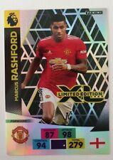 2020/21 PANINI Adrenalyn EPL Soccer Card - Marcus Rashford Limited Edition