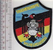 SCUBA Hard Hat Diving Germany Navy Diver Wilhelmshaven Naval Base Tauchergruppe