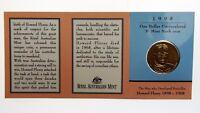 1998 Birth Centenary of Lord Howard Florey One Dollar B Mint Mark Coin