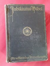 ***Stuttgarter Jubiläumsbibel 1915/16*** Bibel Dr. Martin Luther AT NT TOP ⚡👍
