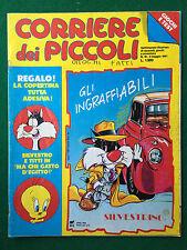CORRIERE DEI PICCOLI n.18/1991 (ITA) COPERTINA ADESIVA AMEDEO MINGHI E.FOLLIERO