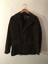 Vintage Towncraft Pennys Green Jacket MEDIUM retro hipster Warm coat