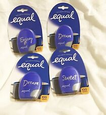 4 PACK  EQUAL Zero Calorie Sweetener Tablets 100 ct ea (400 total)