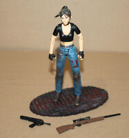 Resident Evil Claire Redfield Bloody Battle Damaged Action Figure Palisades