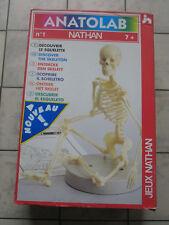 TOP +++  ANATOLAB Vintage 1992  Jeux Nathan Neuf  en boite + SQELETTE ++
