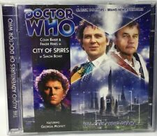 Doctor Who City of Spires CD TWO DISC SET Full Cast Audio Drama Colin Baker
