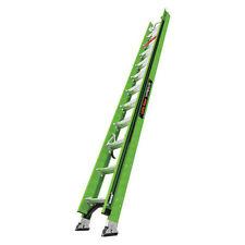 Little Giant 18724 186 24 Ft Fiberglass Extension Ladder 300 Lb Load Capacity