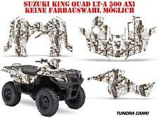 AMR Racing DECORO KIT ATV Suzuki KING QUAD LTA 450/500/700/750 Tundra CAMO B