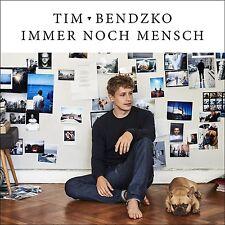 TIM BENDZKO - IMMER NOCH MENSCH LIMITED EDITION HANDSIGNIERT+POSTER CD NEU