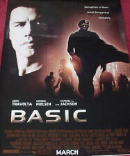 Cinema Poster: BASIC 2003 (One Sheet) John Travolta Samuel L. Jackson