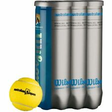 WILSON AUSTRALIAN OPEN TENNIS BALL 1 DOZEN free uk 48 hour tracked postage