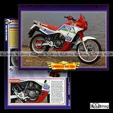 #067.10 Fiche Moto KAWASAKI KLR 650 B TENGAÏ 1990 Trail Motorcycle Card