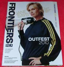 FRONTIERS OUTFEST GAY LESBIAN JULY 2010 JANE LYNCH GLEE