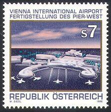 Austria 1996 Aviation/Planes/Airport/Buildings/Architecture/Transport 1v n24857