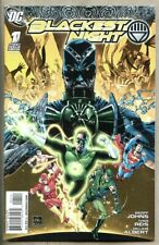 Blackest Night #1-2009 nm 9.4 DC Geoff Johns Green Lantern 4th Variant Cover