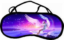 Masque de sommeil cache yeux ange paysage féerique personnalisable REF 74