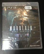 MURDERED SOUL SUSPECT  PS3  NUOVO SIGILLATO