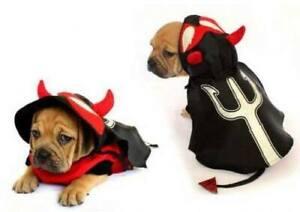 Little Devil Halloween dog costume shirt x SMALL 20cm to XLARGE 40cm dogs