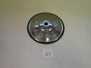 VTG Volvo 140 142 145 164 Hubcap Original Stainless Steel with Rubber Seal