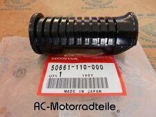 Honda ss125 sl 90 100 cl77 repose pied en caoutchouc rubber step New Original 50661-110-000