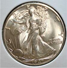1947-D Silver Walking Liberty Half, Unusual Mintmark, Nice Eye Appeal
