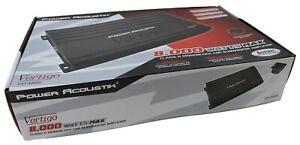 Power Acoustik VA1-8000D 8000 Watts Max 1 Ohm MOSFET Car Stereo Amplifier