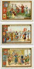 Full Set, Liebig (OXO) S513, The Crusades II (X6) 1897 G (Gv148-322)