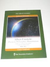 Albert Einstein: Physicist, Philosopher, Humanitarian BOOK ONLY Great Courses