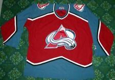 NHL - Authentic STARTER : Colorado Avalanche Team Hockey Jersey  Size L