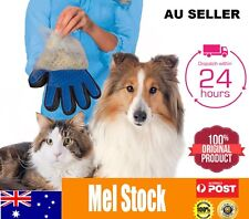 Cleaning Brush Magic Glove Pet Dog Cat Massage Hair Removal Grooming True Touch