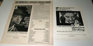 ORIGINAL • THE NANNY (2 pieces) • 1965 • 20th Century Fox / Hammer • Complete