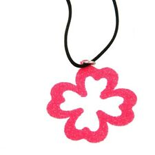 ORIGINAL THY Necklace FLUO Female Four-leaf clover- FLUO4F
