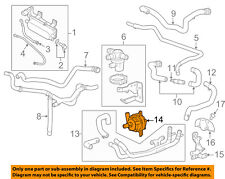 GM OEM Heater Hose-Cooling-Cooler Pump 13597899
