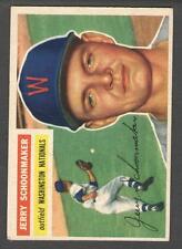 1956 Topps #216 Jerry Schoonmaker