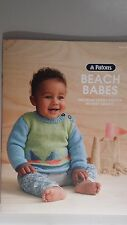 Patons Pattern Book #8019 Beach Babes - Outfits to Knit for Babies in 4 & 8 Ply