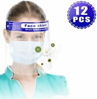 Lot of Full Face Safety Shield Reusable Protection Cover Face Eye Cashier Helmet