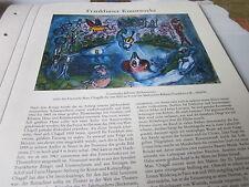 Frankfurt archivado a 7 obras de arte 4053 Commedia dell 'arte chagall 1858