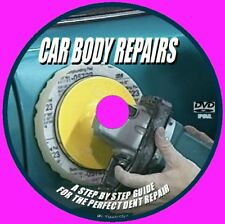 DVD TRAINING CAR BODY PANEL REPAIR DENTS PAINTS TOOLS PULLING WELDING HOLES NEW
