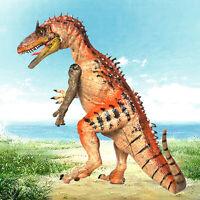Realistic Cryolophosaurus Dinosaur Figure Kids Toy Gift Pre-History Animal Model